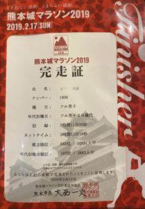熊本城マラソン2019